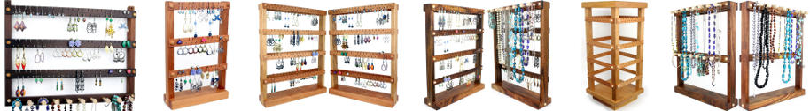 Tom's Earring Holders jewelry holder selection